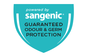 Guaranteed odour and germ protection